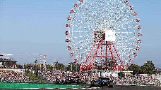 Formel 1 verlängert mit Suzuka bis 2024