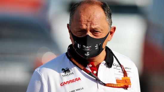 Alfa-Romeo-Teamchef fehlt wegen Corona bei Tests