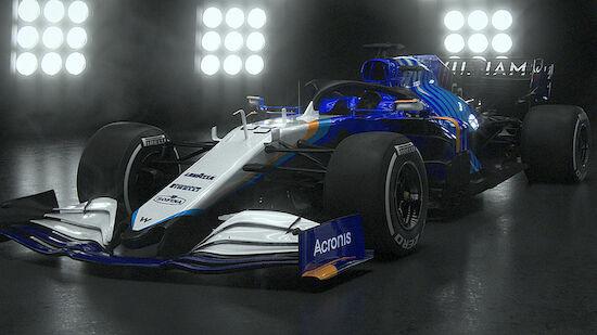 Williams im komplett neuen Look