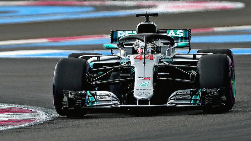 Hamilton holt Pole in Frankreich