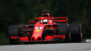 Strafe für Vettel in Spielberg