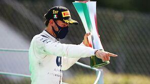 Sensation in verrücktem Monza-GP