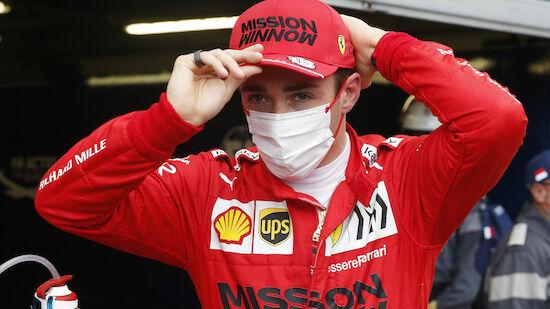 Leclerc crasht zur Pole: