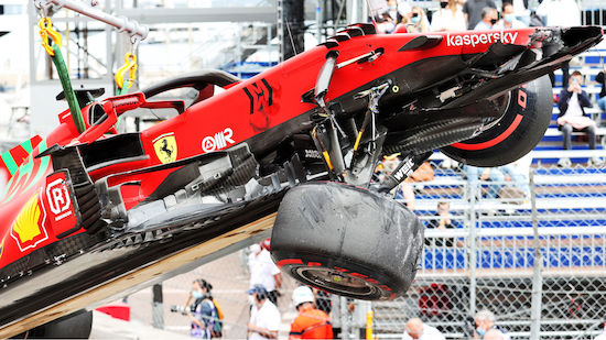 Leclerc holt Pole und crasht in Monaco