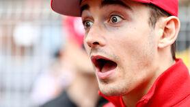 Charles Leclerc sorgt für Wirbel bei Ferrari