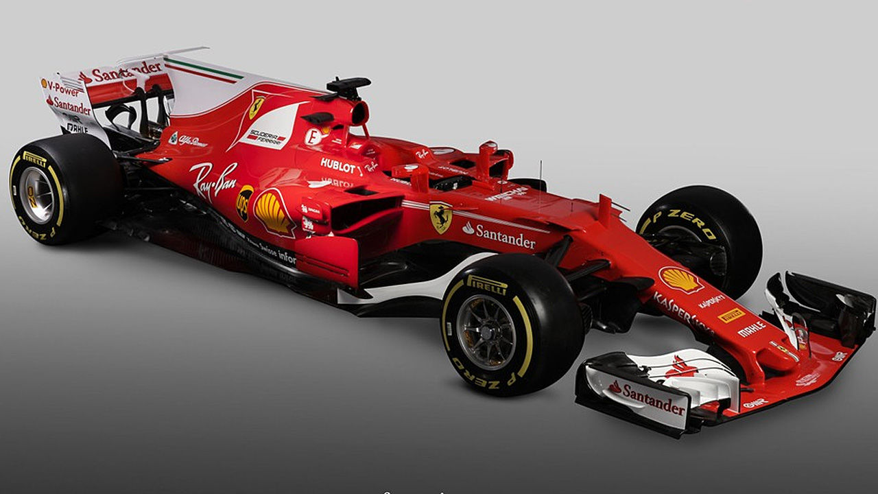 ferrari pr sentiert neues auto f r f1 saison 2017. Black Bedroom Furniture Sets. Home Design Ideas