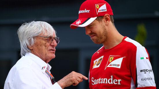 Ecclestone: Vettel bei Mercedes emotionaler Schub
