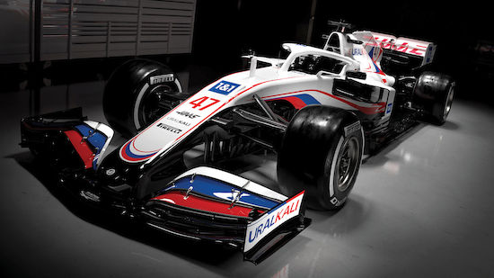 F1: Haas-Auto erscheint 2021 im Russland-Look