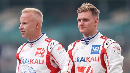 Schumacher bleibt auch 2022 bei F1-Team Haas
