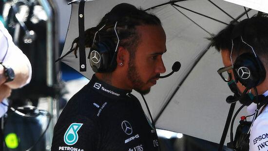 Hamilton nach Crash im Netz beleidigt