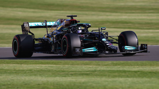 Hamilton im 1. Monza-Training klar vor Verstappen