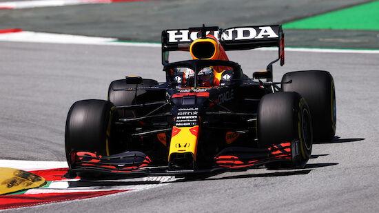 Verstappen distanziert Mercedes im 3.Training klar