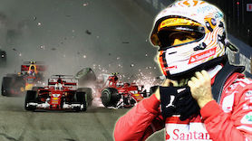 Vettel nach Crash unter Beschuss