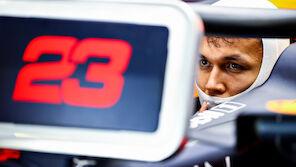 Albon hat noch zwei Rennen Zeit bei Red Bull