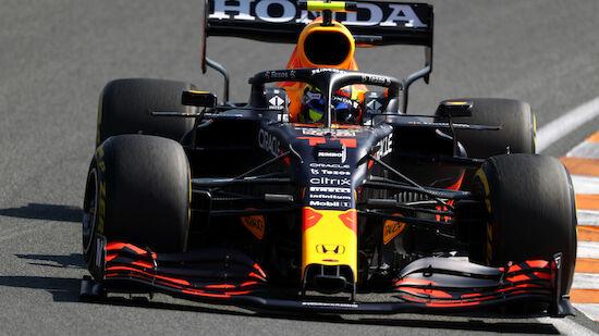 Perez kassiert Motorenstrafe in Zandvoort