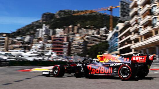 Red Bull mit Bestzeit zum Auftakt in Monaco