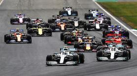 Formel 1 enthüllt Boliden-Konzept für 2021