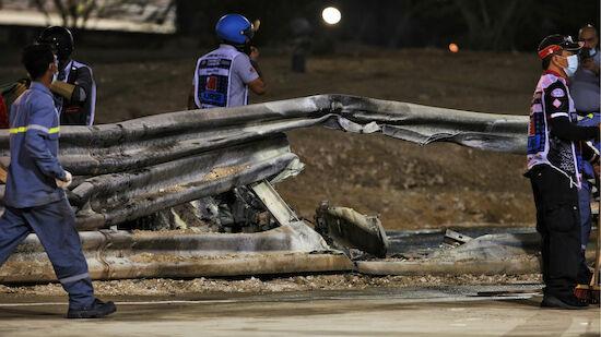 Bahrain: Änderungen an Grosjeans Unfallstelle
