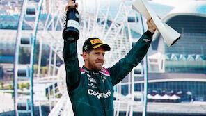 Podium! Vettel