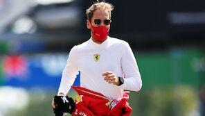 Vettel nach Ausfall fertig:
