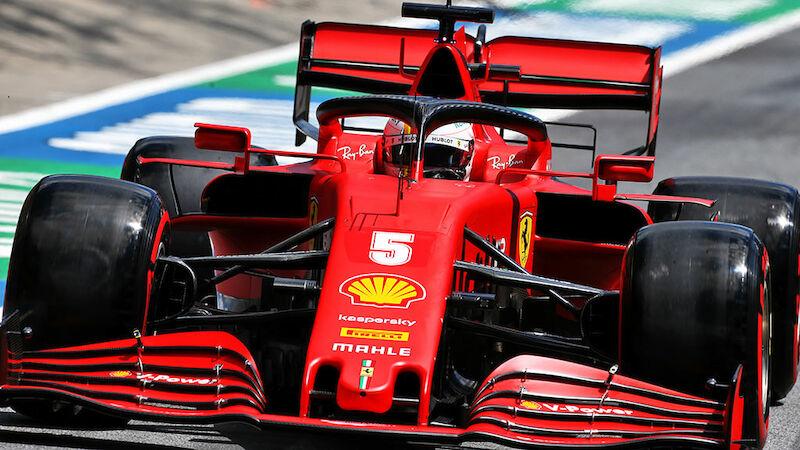 Quali-Watschn für Vettel in Spielberg