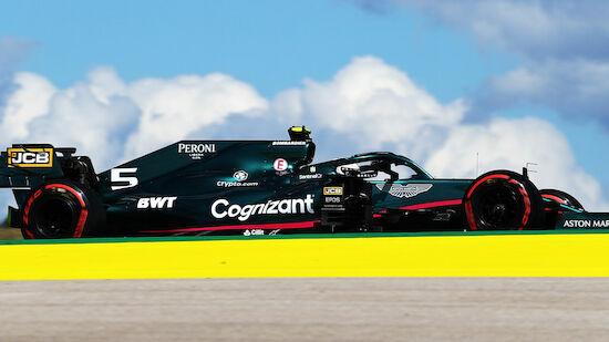 Vettel in kleinen Schritten voran und zurück in Q3
