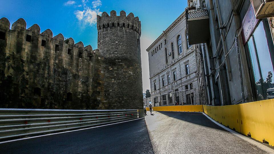 Neuer F1-Kurs in Baku - die Bilder