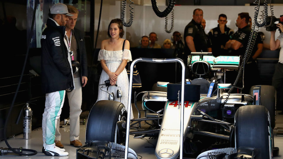 Christoph Waltz meets Formel 1 - Staraufgebot in Austin