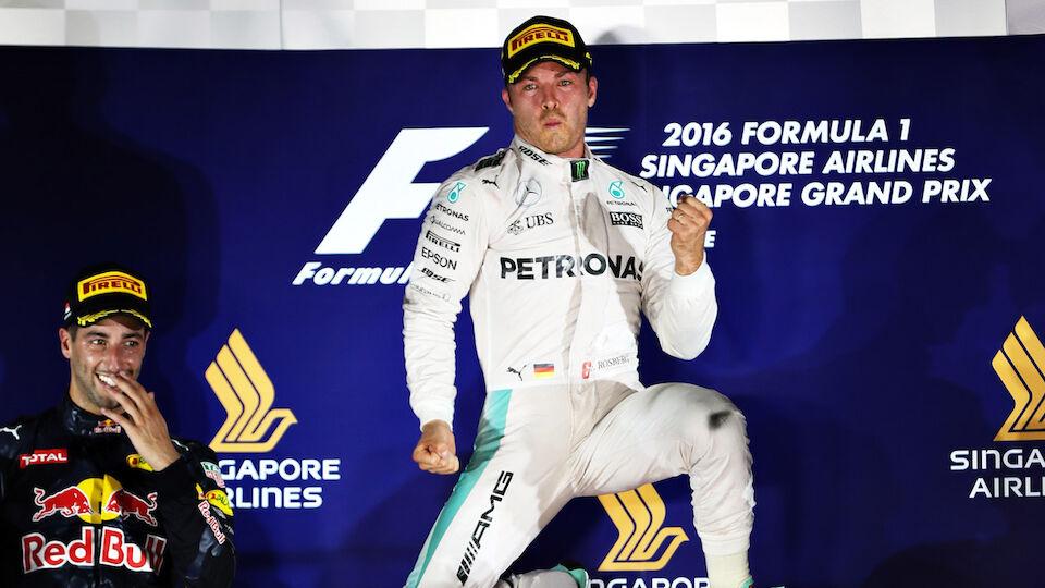 Formel 1: Die besten Bilder vom GP von Singapur