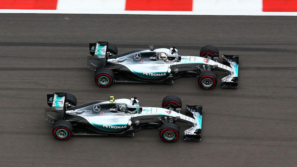 Die Karriere von Weltmeister Nico Rosberg in Bildern