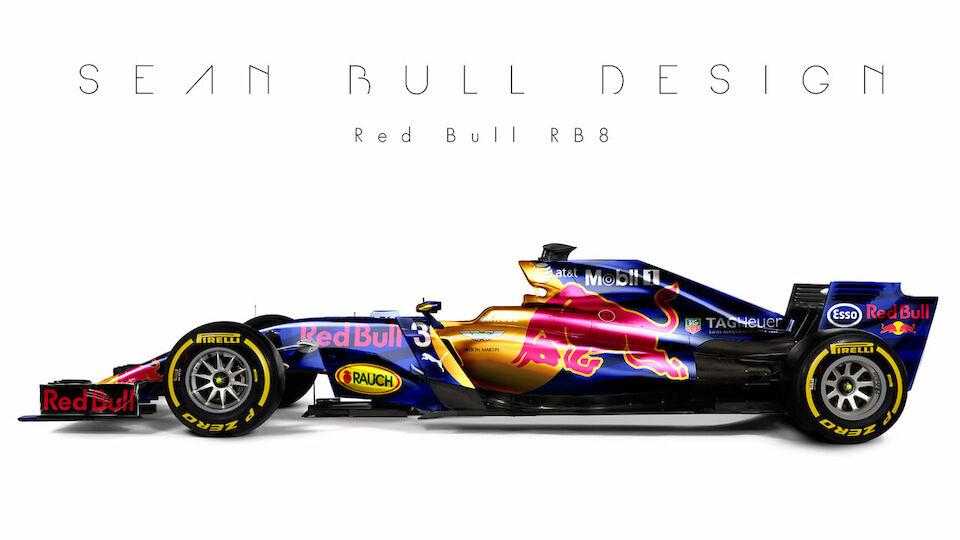 Formel 1: Design-Konzepte für die Autos 2017
