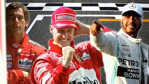 Ranking: Die besten Formel-1-Fahrer aller Zeiten