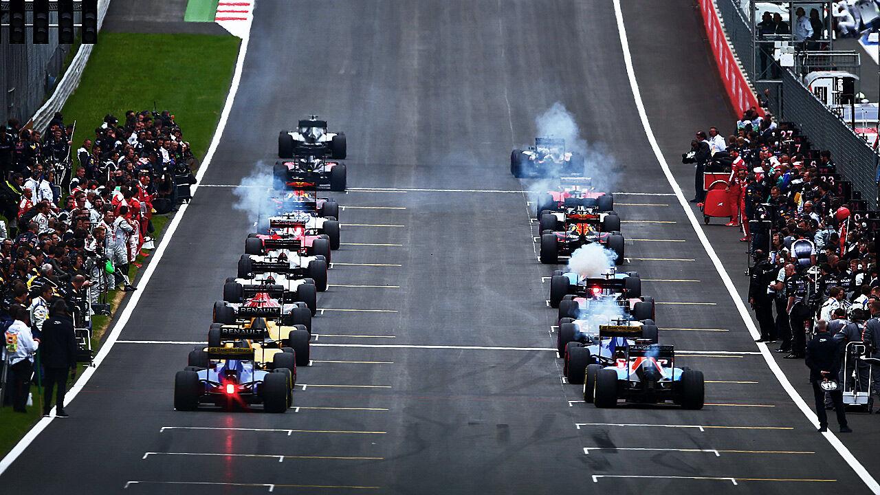 Formel1 Startaufstellung
