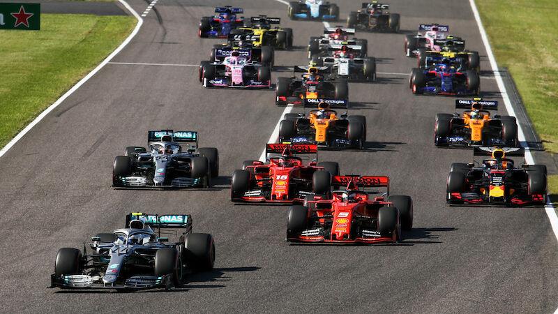 Formel 1: Fahrerfeld der Saison 2020 im Überblick