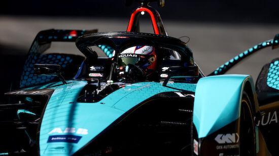 Sam Bird gewinnt im Jaguar abgebrochenen E-Prix