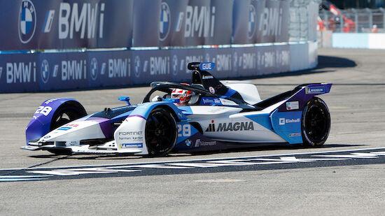 Formel E: Erster Saisonsieg für Günther in NY