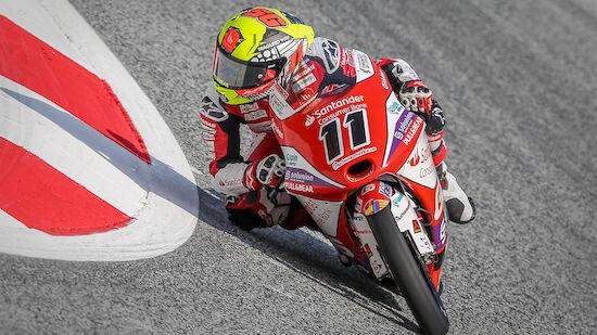 Spannender Ziel-Sprint in Moto3 am Spielberg