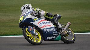 Moto3: Pole-Setter Fenati siegt in Silverstone