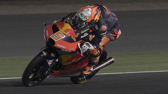 Moto3: KTM feiert Doppelsieg in Katar