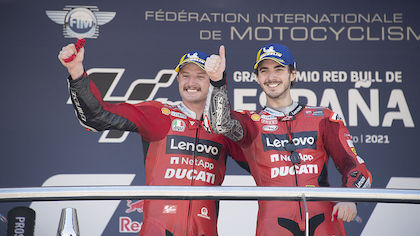Top: Ducati