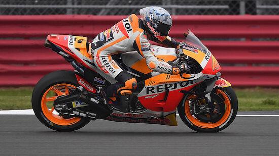 MotoGP: Überraschungspole in Silverstone