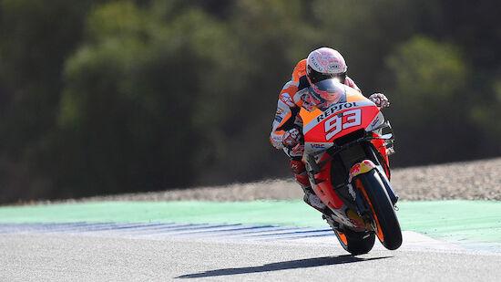 Starkes Comeback von Marquez in der MotoGP