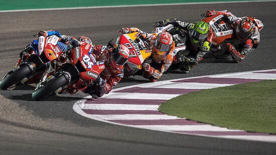 Zeitplan für Motorrad-WM in Katar