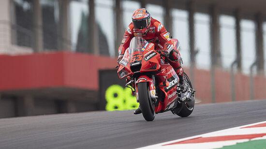 MotoGP: Pecco Bagnaia in Jerez-Training voran