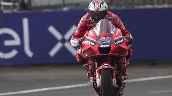 MotoGP: Ducati-Pilot Jack Miller gewinnt Chaos-GP!