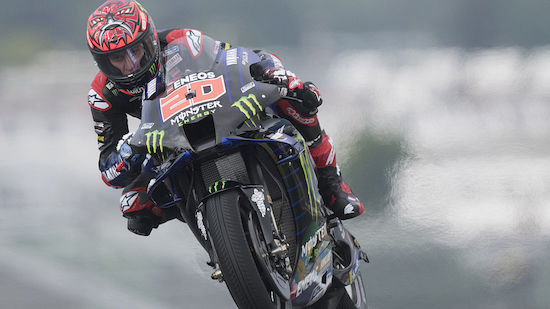MotoGP: Quartararo in Le Mans auf Pole-Position