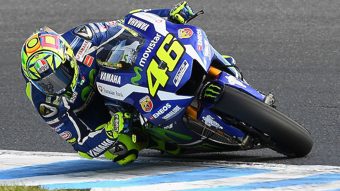 Rossi Unfall