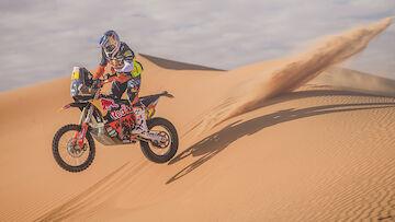 Walkner fällt beim Dakar-Abschluss zurück