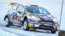 Staatsmeister Neubauer gewinnt Jänner-Rallye