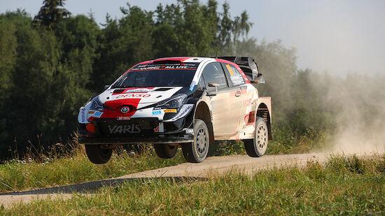 Finne dominiert Auftakt der Estland-Rallye